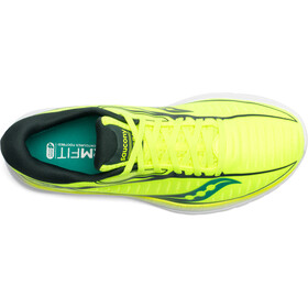 saucony Kinvara 10 Shoes Men, citron/teal